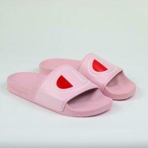 Champion Pink Ipo Pool Beach Summer Slide Sandals